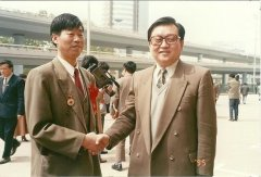 中央政治局常委李长春接见李显成院长